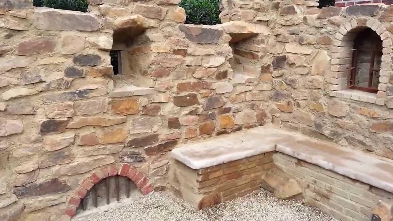gartenmauer mit dem charme einer ruine - youtube