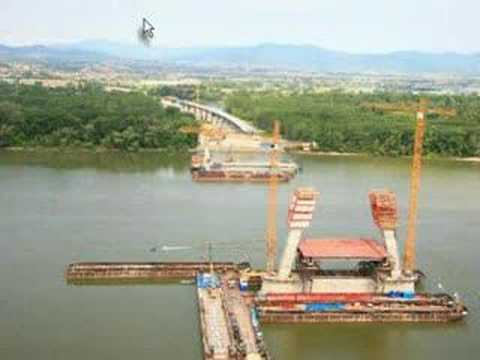 M0-ás híd - Megyeri-híd, Hungary, new bridge on d Danube