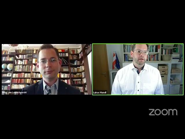 Grundrechte während und nach der Pandemie - Talk von Jan Ledóchowski mit Lukas Mandl