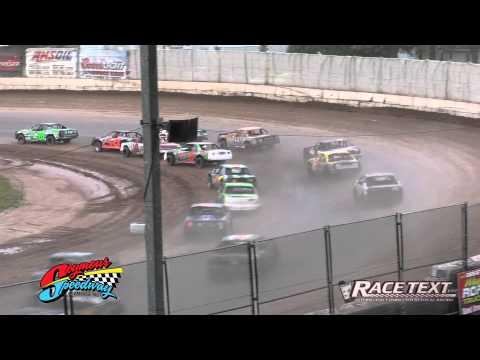 Seymour Speedway - June 29, 2014 - IMCA Stock Cars
