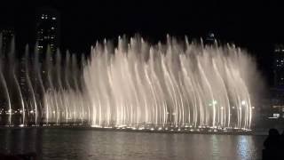 The Dubai Mall-Fountain Show