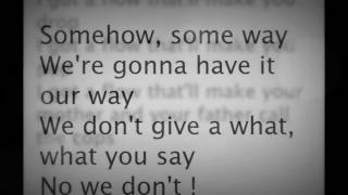? Cher Lloyd ~ Grow Up Lyrics? (From the NEW album sticks and stones)?