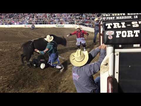 #summerrun17 FT. Madison IA Bullfighting Highlight