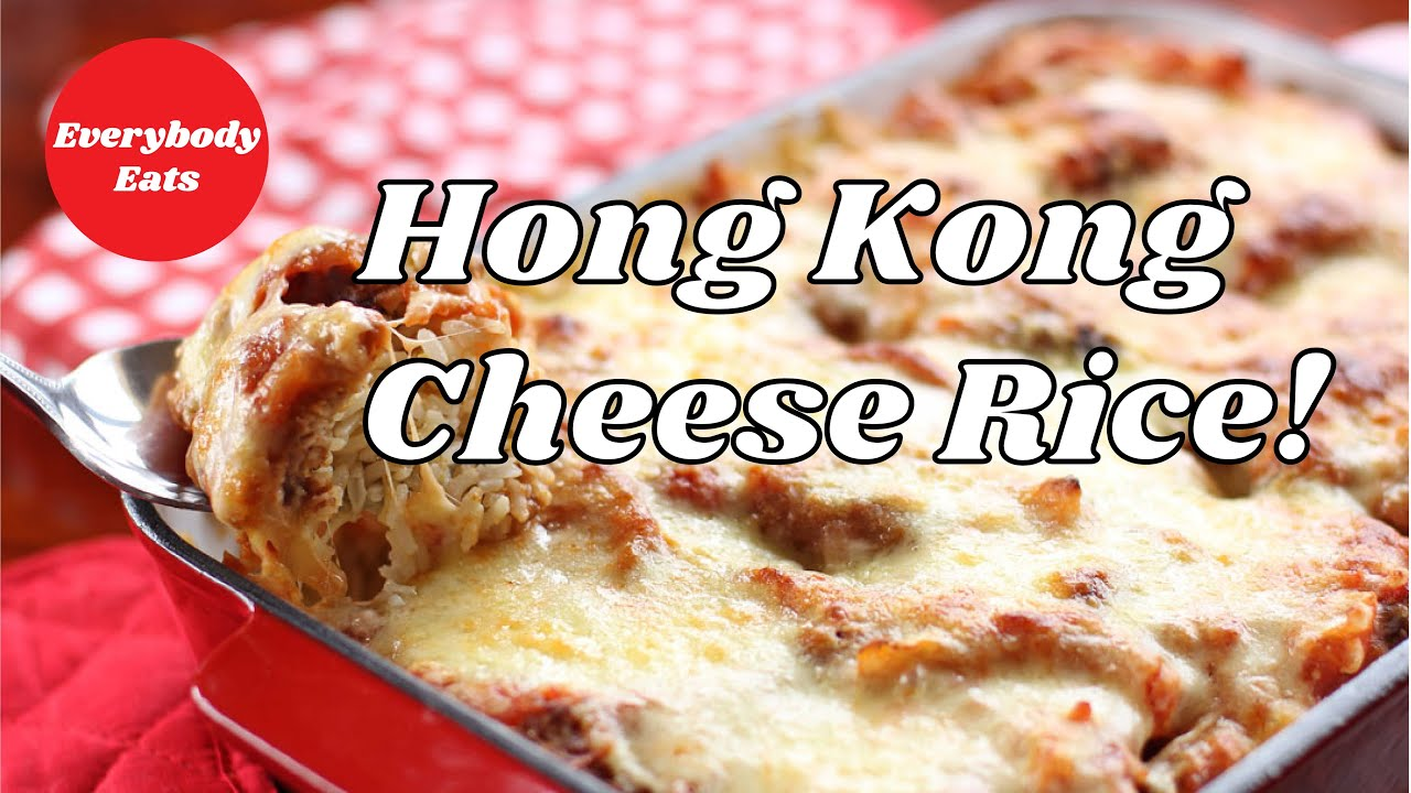 WHAT TO DO WITH LEFTOVER CHINESE FOOD! - Hong Kong Baked Cheese Rice | Struggle Meal Saturday EP.1