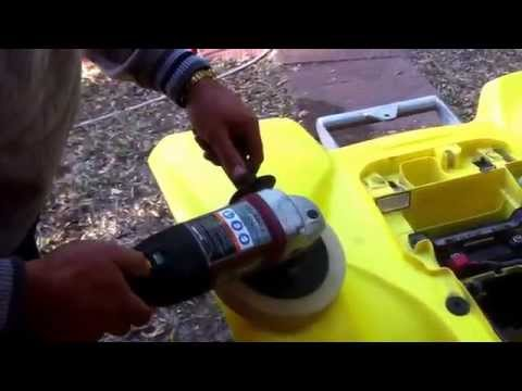 Spray Painting A Electric Dirt Bike