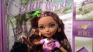 Ever After High Cedar Wood Doll Review✨