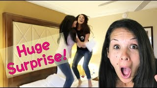 HUSBAND SURPRISES WIFE with HUGE TREASURE HUNT!!