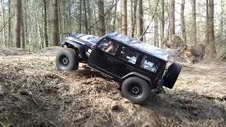 Axial jeep @ appelscha