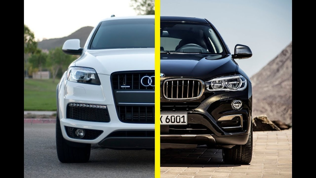 Bmw X6 Vs Audi Q7 Youtube