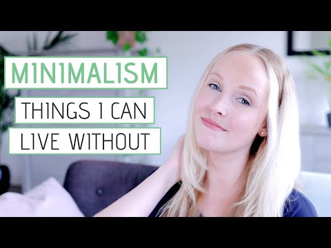 MINIMALIST LIVING » Things I can now easily live without