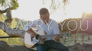 Marry You Bruno Mars Fingerstyle Acoustic Guitar