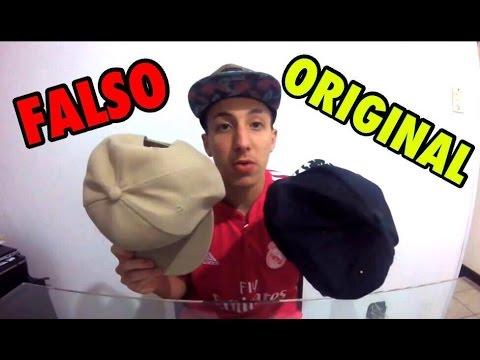 DIFERENÇA DO BONÉ ORIGINAL X FALSO - YouTube 3486583bd37