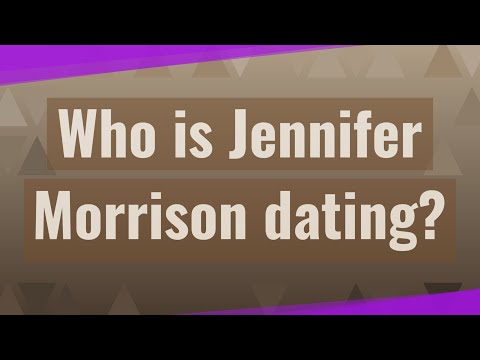 Who Is Jennifer Morrison Dating?