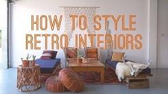 How to Style Retro Interiors