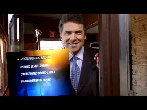 Rick Perry is Open for Business