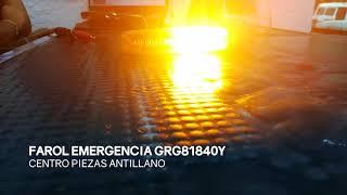 Farol Emergencia GRG81840Y
