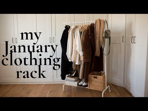 My Clothing Rack With Christian Louboutin, Chloé & More - Le Temps D'un Café