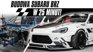 Building a drift-car in 25 minutes - Subaru BRZ - Drift Projekt