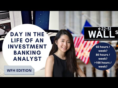 Day in the Life of a NYC Bulge Bracket Investment Banking Analyst | WFH Routine Vlog