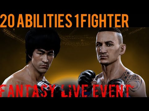 EA SPORTS UFC Mobile - Fantasy Live Event: Bruce Lee vs. Max Holloway Live Event Prize!
