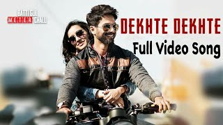 Dekhte Dekhte Full Video Song | Dekhte Dekhte Song Atif Aslam | Batti Gul Meter Chalu | APH Ringtone