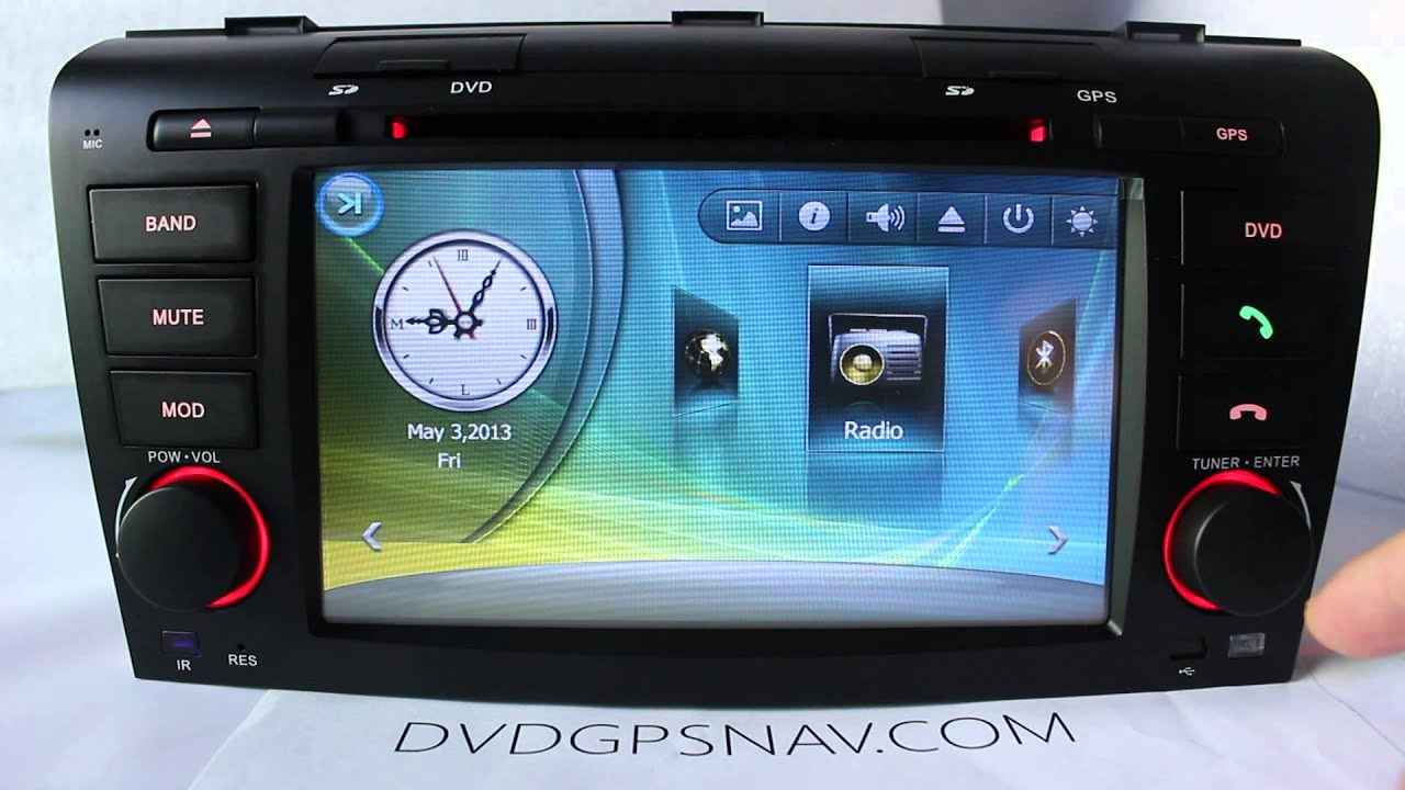 how to use gps on mazda 3