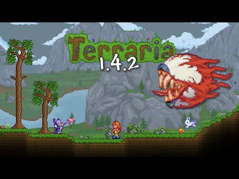 These Sprites Are AMAZING! Terraria 1.4.2 Official Jimmarn Texture Pack