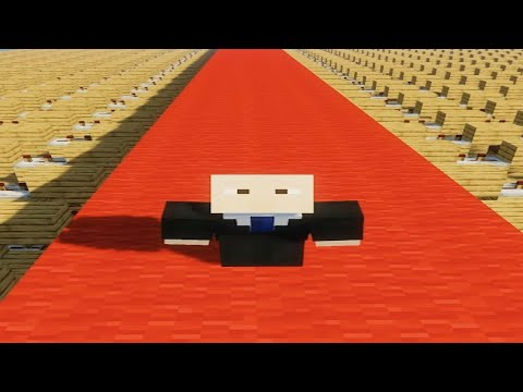 Wide Putin Walking Meme Song - Minecraft Note Block Cover