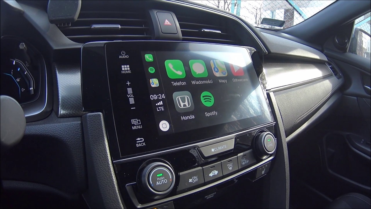 Honda Civic 2017 Connect Apple Car Play Android Auto Youtube