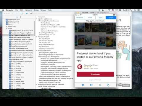 ios 스위프트(swift) 강좌 - 미니웹브라우저 만들기 1