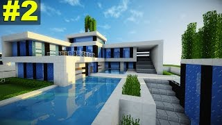 Minecraft: Tutorial Casa Super Moderna - Parte 2