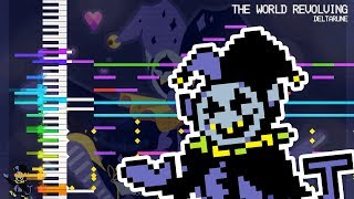 【MIDI DL】THE WORLD REVOLVING (Jevil's Theme) | DELTARUNE | Touhou Style Remix | MIDI Remaster thumbnail