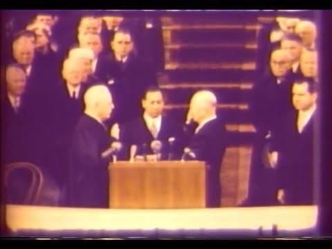Jan. 21, 1957: Inaugural Ceremonies for Dwight D. Eisenhower