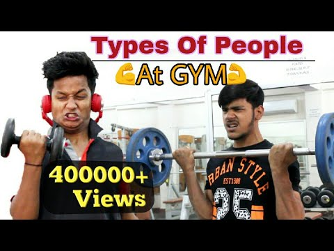 Types Of People At The GYM | Gym Funny Video | BKLOL AddA