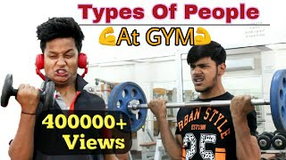 Types Of People At the GYM | Gym Funny Video | BKLOL AddA thumbnail