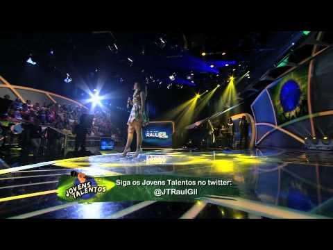 Programa Raul Gil - Mayra (We Remain) - Jovens Talentos - #JT2013