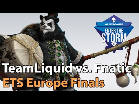 Fnatic vs Liquid - ETS EU WB - G2