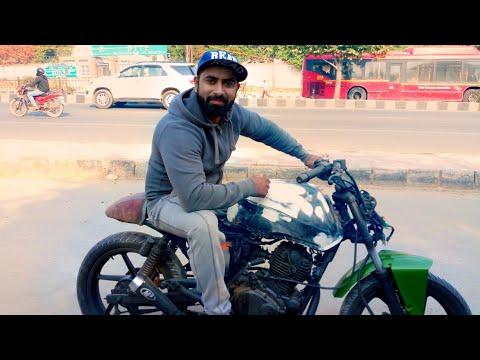 Bajaj Pulsar 150 Cafe Racer Part 2 || Delhi DC RIDER ||