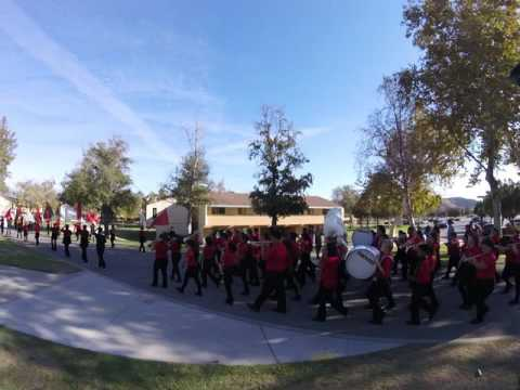 Lake Elsinore Middle School Band at CSUSB 10-22-16