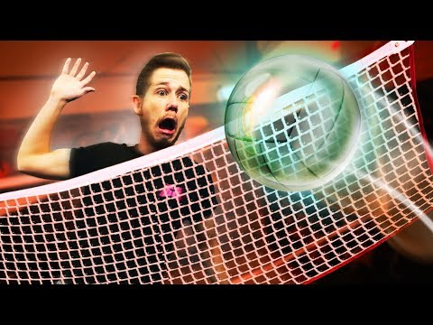 Playing Volleyball With GLASS Challenge! | REKT vs. Get Good Gaming