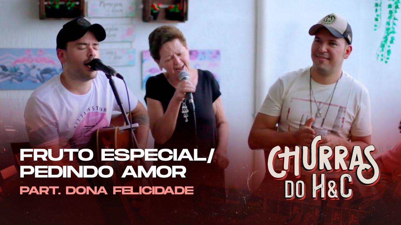 Henrique e Conrado – FRUTO ESPECIAL / PEDINDO AMOR (part. Dona Felicidade) #ChurrasHeC