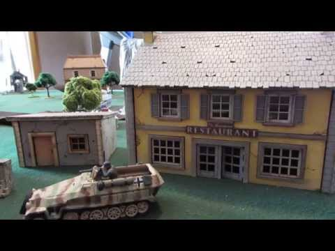 Product Review - Cresent Root Studios 28mm World War II Buildings