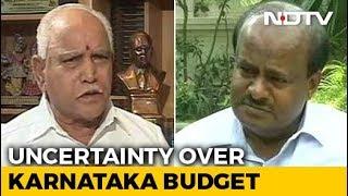 """In New Karnataka Drama, HD Kumaraswamy Airs Audio Clips, BJP Says """"Fake"""""""