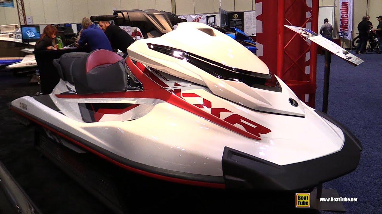 2016 yamaha vxr jet ski walkaround 2015 aimexpo. Black Bedroom Furniture Sets. Home Design Ideas