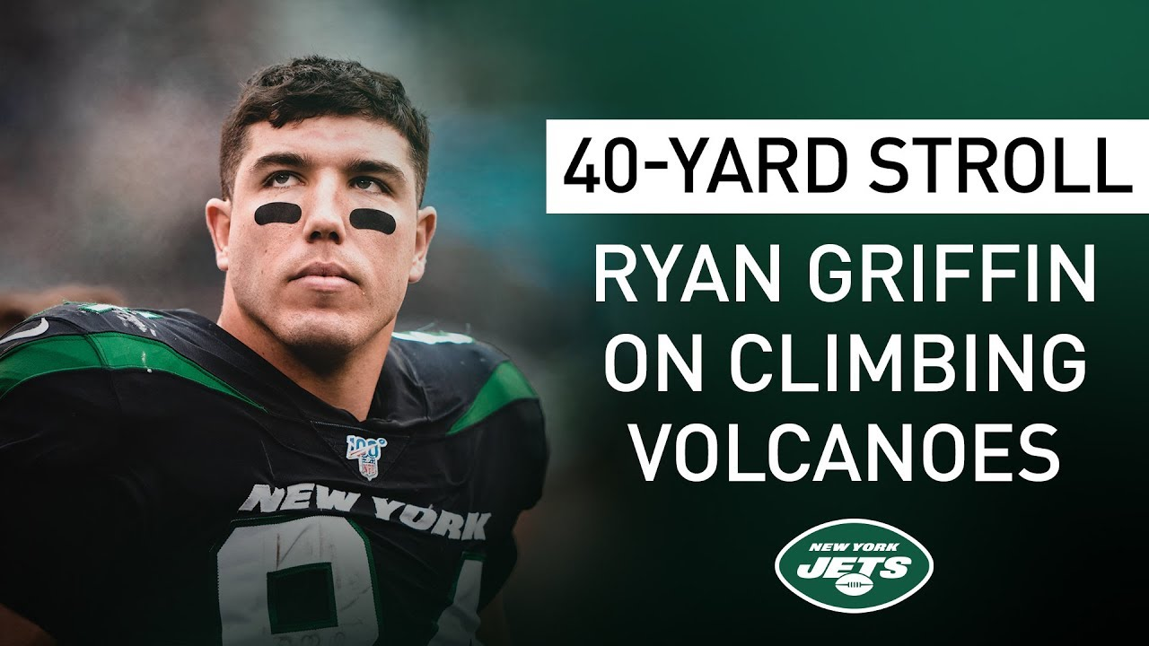 40-Yard Stroll: Ryan Griffin Talks Volcanoes And UCONN Hoops | New York Jets | NFL