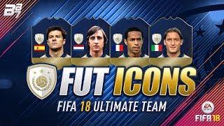Fut icons!!! the wishlist! | fifa 18 ultimate team