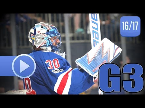 Montreal Canadiens vs New York Rangers. 2017 NHL Playoffs. Round 1. Game 3. April 16th, 2017. (HD)