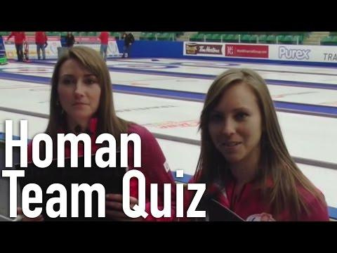 Team Rachel Homan - Teammate Quiz