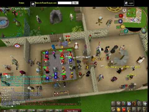 My (Gc20Amber) Quest Cape & Dark Lumino0′s 99 Hunter party