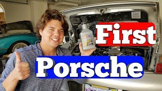 2000 Porsche 911 AMSOIL Engine Oil Flush Results